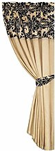 Skippys Single Panel Curtain Luxury Damask Curtain