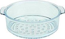 SKK 06024 Glass Colander - Round - 24 cm -