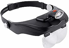 SKK Head Mount Magnifier Rechargeable Magnifying
