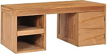 SKM Coffee Table 90x50x40 cm Solid Teak Wood