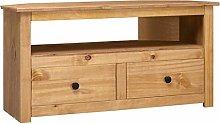 SKM Corner TV Cabinet 93x55x49 cm Solid Pine