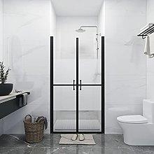 SKM Shower Door Half Frosted ESG (68-71) x190 cm