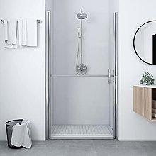 SKM Shower Door Tempered Glass 100x178 cm