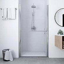 SKM Shower Door Tempered Glass 91x195 cm