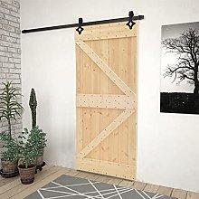 SKM Sliding Door with Hardware Set 80x210 cm Solid