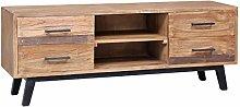 SKM TV Cabinet 120x30x45 cm Solid Teak