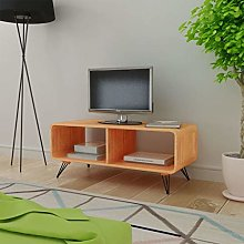 SKM TV Cabinet 90x39x38.5 cm Wood Brown
