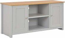 SKM TV Cabinet Grey 120x39x58 cm