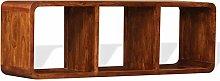 SKM TV Cabinet Solid Wood with Sheesham Finish