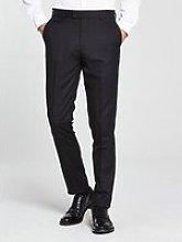 Skopes Newman Tuxedo Slim Trouser - Black