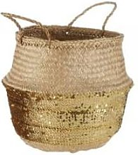 Skoura - Belly Basket Large - Gold