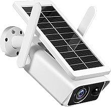 skrskr 1080P Outdoor Solar Security Camera 2MP
