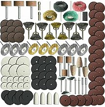 skrskr 216Pcs Rotary Tool Accessories Set for