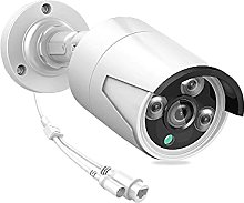 skrskr 3MP POE Security Camera with Audio Night