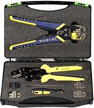 skrskr JX-D 5301 Ratchet Crimper Plier Crimping