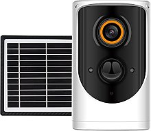 skrskr Solar Powered Outdoor Security Camera,