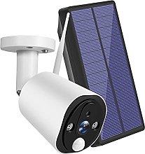 skrskr Solar Powered Wireless Security Camera,