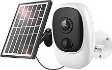 skrskr Solar Security Camera,1080P Wireless WiFi