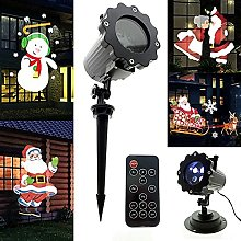 SKSNB Christmas Projector LED Light, 4 Patterns