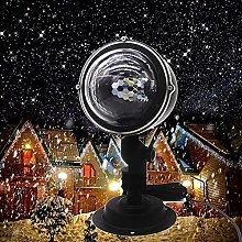 SKSNB LED Snow Christmas Projector, Decorations