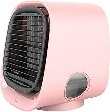 SKTE Air Cooler Fan Mini Desktop Air Conditioner