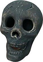 Skull Charcoal Imitated Human Skull Gas Log