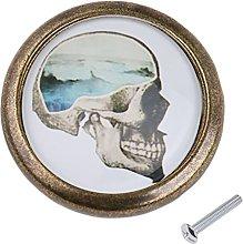 Skull Closet Door Dresser Drawer Cabinet Cupboard