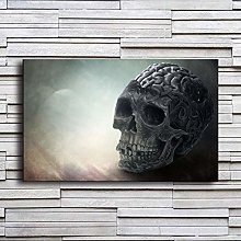 Skull Decoration Painting Oil Painting Abstract