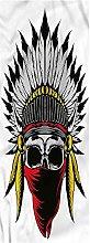 Skull Runner Rug, 2'x5', Skull with