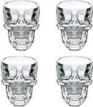 Skull Shot Glass,Crystal Head Vodka,Skull