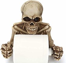 Skull Toilet Paper Holder, Wall-Mounted Toilet
