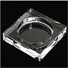 SKVVIDY Ashtray Outdoor Crystal Glass Ash Tray