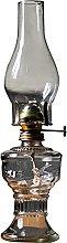 SKXZK Glass Kerosene Oil Lamp, Retro Nostalgia