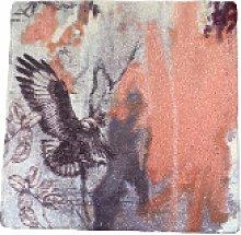 sky siouki - Jackal Buzzard Stone Tile Placemat -