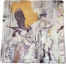 sky siouki - Northern Lapwing Stone Tile Coaster -