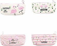 Skyeye Swan Pattern Pen Bag Simple Multi-function