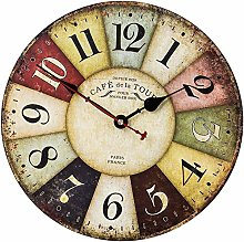 SkyNature Vintage Wall Clock, 35cm France Country