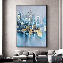 SKYROPNG Oil Painting Hand Painted,Landscape Large
