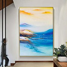 SKYROPNG Oil Painting Hand Painted,Large Abstract