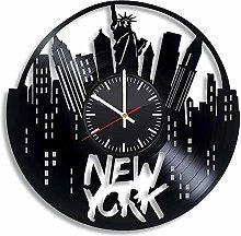 SKYTY Clocks Vinyl Wall Clock Vinyl CD Handmade