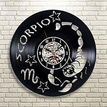 SKYTY Vinyl Wall Clock-Cancer Wall Clock-Retro