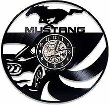 SKYTY Vinyl Wall Clock-Car Lovers Wall Clock-Retro