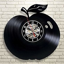 SKYTY Vinyl Wall Clock-Fruit Wall Clock-Retro