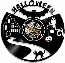 SKYTY Vinyl Wall Clock-Halloween Wall Clock-Retro