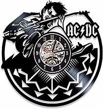 SKYTY Vinyl Wall Clock-Rock Band Wall Clock-Retro