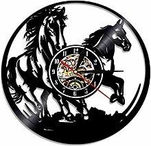 SKYTY Vinyl Wall Clock-Wall Clock For Horse