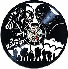 SKYTY Vinyl Wall Clock-Warcraft Wall Clock-Vintage