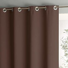 SL Home Thermal Blackout Curtain with Eyelets for