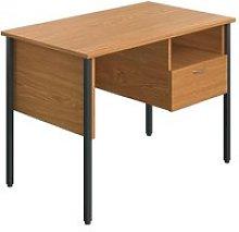 Slater Rectangular Home Office Desk With Drawer
