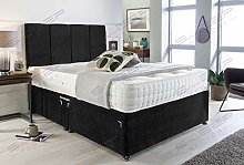 Sleep Factory's Black Velvet Manhattan Divan